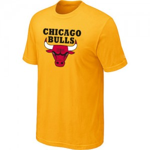 Tee-Shirt NBA Chicago Bulls Big & Tall Jaune - Homme