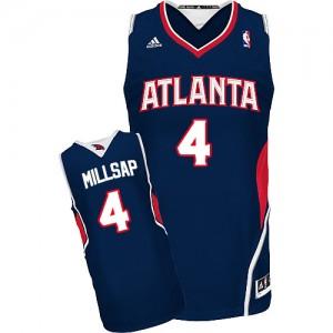 Maillot NBA Swingman Paul Millsap #4 Atlanta Hawks Road Bleu marin - Homme