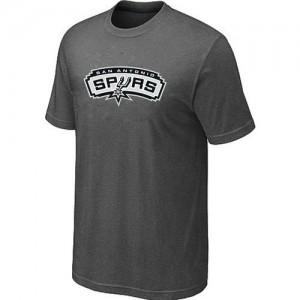 San Antonio Spurs Big & Tall Gris foncé Tee-Shirt d'équipe de NBA Vente - pour Homme