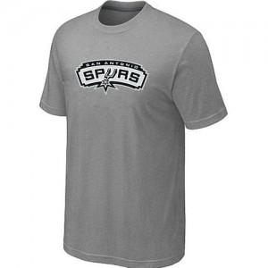 San Antonio Spurs Big & Tall Gris Tee-Shirt d'équipe de NBA Magasin d'usine - pour Homme