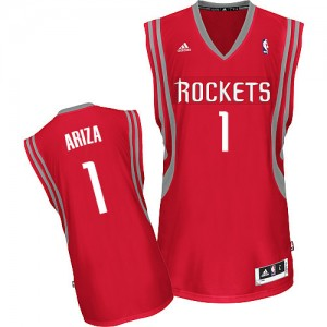 Maillot Adidas Rouge Road Swingman Houston Rockets - Trevor Ariza #1 - Homme