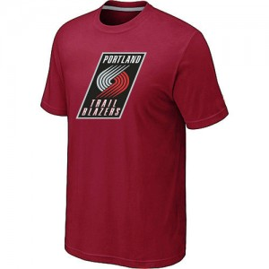 Tee-Shirt NBA Portland Trail Blazers Big & Tall Rouge - Homme
