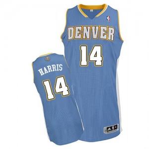 Denver Nuggets Gary Harris #14 Road Authentic Maillot d'équipe de NBA - Bleu clair pour Homme