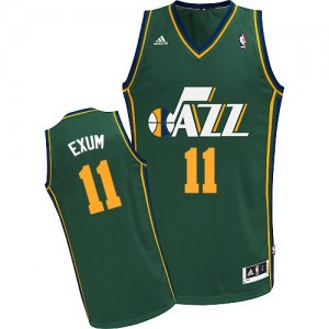 Maillot Swingman Utah Jazz NBA Alternate Vert - #11 Dante Exum - Homme