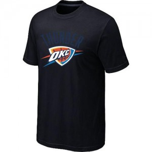 T-shirt principal de logo Oklahoma City Thunder NBA Big & Tall Noir - Homme