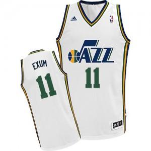 Maillot NBA Swingman Dante Exum #11 Utah Jazz Home Blanc - Homme