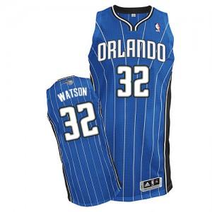 Maillot NBA Bleu royal C.J. Watson #32 Orlando Magic Road Authentic Homme Adidas