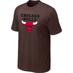Tee-Shirt NBA Chicago Bulls Big & Tall marron - Homme
