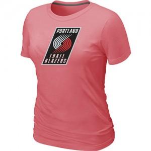 Portland Trail Blazers Big & Tall Rose Tee-Shirt d'équipe de NBA en ligne - pour Femme