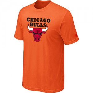 Tee-Shirt NBA Chicago Bulls Orange Big & Tall - Homme