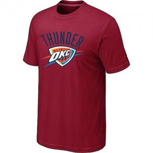 T-shirt principal de logo Oklahoma City Thunder NBA Big & Tall Rouge - Homme