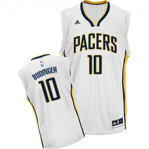 Maillot Swingman Indiana Pacers NBA Home Blanc - #10 Chase Budinger - Homme