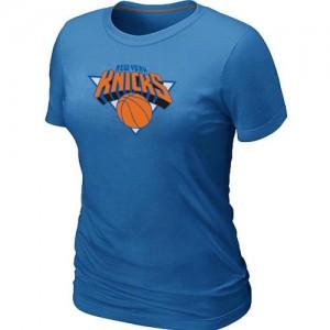 Tee-Shirt NBA New York Knicks Bleu clair Big & Tall - Femme
