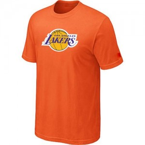 Los Angeles Lakers Big & Tall Orange Tee-Shirt d'équipe de NBA Prix d'usine - pour Homme