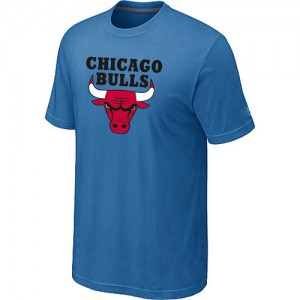 Tee-Shirt NBA Chicago Bulls Big & Tall Bleu clair - Homme