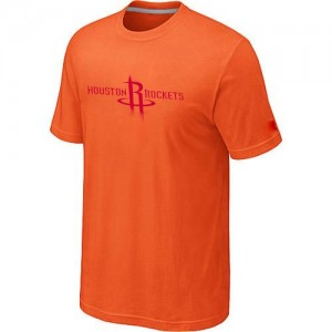 Tee-Shirt NBA Houston Rockets Big & Tall Orange - Homme