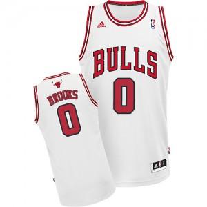 Maillot Swingman Chicago Bulls NBA Home Blanc - #0 Aaron Brooks - Homme