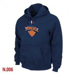 New York Knicks Marine Sweat à capuche d'équipe de NBA la meilleure qualité - pour Homme