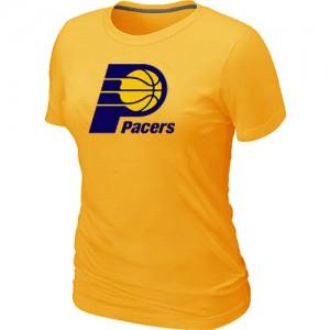 Indiana Pacers Big & Tall Jaune Tee-Shirt d'équipe de NBA en vente en ligne - pour Femme