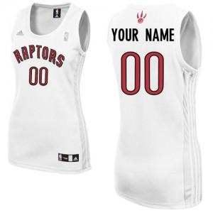 Maillot NBA Swingman Personnalisé Toronto Raptors Home Blanc - Femme
