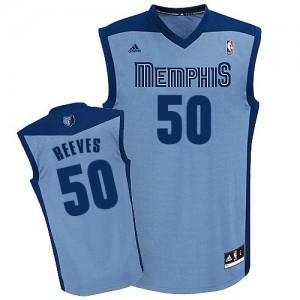 Memphis Grizzlies #50 Adidas Alternate Bleu clair Swingman Maillot d'équipe de NBA Vente - Bryant Reeves pour Homme