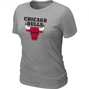 Tee-Shirt NBA Chicago Bulls Big & Tall Gris clair - Femme