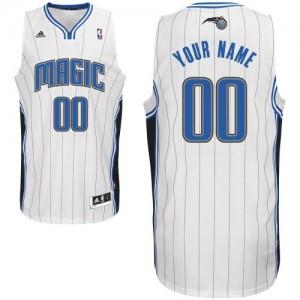 Orlando Magic Swingman Personnalisé Home Maillot d'équipe de NBA - Blanc pour Enfants