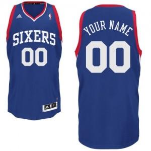 Philadelphia 76ers Swingman Personnalisé Alternate Maillot d'équipe de NBA - Bleu royal pour Homme