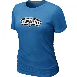 Tee-Shirt Bleu clair Big & Tall San Antonio Spurs - Femme