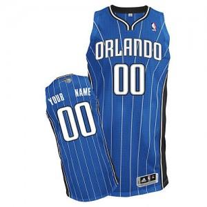 Orlando Magic Authentic Personnalisé Road Maillot d'équipe de NBA - Bleu royal pour Enfants