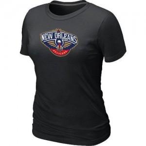 New Orleans Pelicans Big & Tall Tee-Shirt d'équipe de NBA - Noir pour Femme