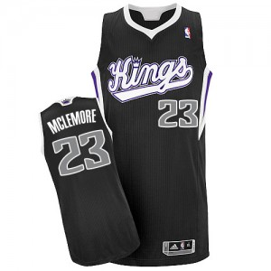 Maillot NBA Authentic Ben McLemore #23 Sacramento Kings Alternate Noir - Homme