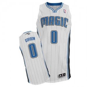 Maillot Authentic Orlando Magic NBA Home Blanc - #0 Aaron Gordon - Homme