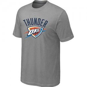 Oklahoma City Thunder Big & Tall Tee-Shirt d'équipe de NBA - Gris pour Homme