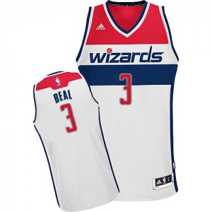 Maillot Swingman Washington Wizards NBA Home Blanc - #3 Bradley Beal - Homme