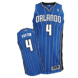 Orlando Magic #4 Adidas Road Bleu royal Authentic Maillot d'équipe de NBA Vente pas cher - Elfrid Payton pour Homme