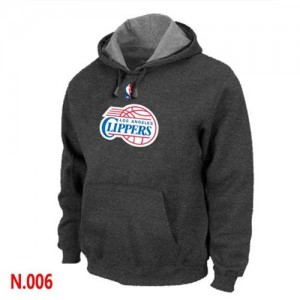 Sweat à capuche NBA Gris foncé Los Angeles Clippers Homme
