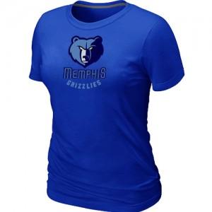 Memphis Grizzlies Big & Tall Bleu Tee-Shirt d'équipe de NBA Vente - pour Femme
