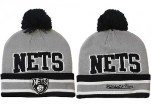 Bonnet Knit Brooklyn Nets NBA AMLPUGXX