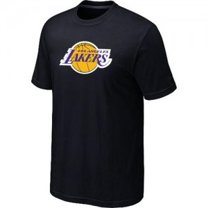T-shirt principal de logo Los Angeles Lakers NBA Big & Tall Noir - Homme