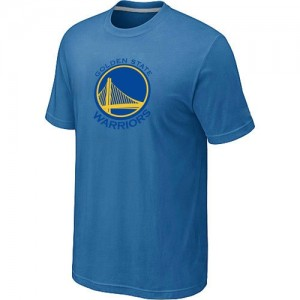 Tee-Shirt NBA Golden State Warriors Big & Tall Bleu clair - Homme