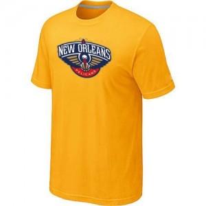 T-shirt principal de logo New Orleans Pelicans NBA Big & Tall Jaune - Homme
