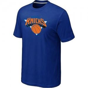 New York Knicks Big & Tall Bleu Tee-Shirt d'équipe de NBA pas cher en ligne - pour Homme