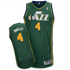 Maillot Authentic Utah Jazz NBA Alternate Vert - #4 Adrian Dantley - Homme