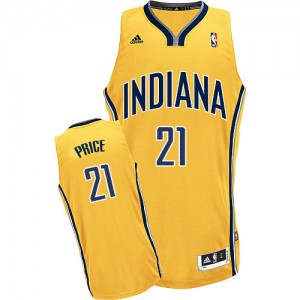 Maillot NBA Indiana Pacers #21 A.J. Price Or Adidas Swingman Alternate - Homme
