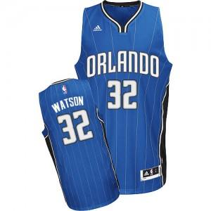 Maillot Adidas Bleu royal Road Swingman Orlando Magic - C.J. Watson #32 - Homme