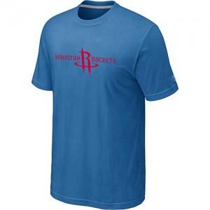 Houston Rockets Big & Tall Tee-Shirt d'équipe de NBA - Bleu clair pour Homme