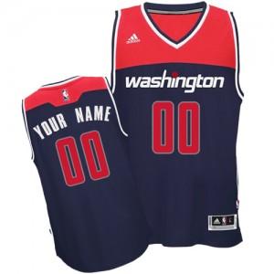 Washington Wizards Swingman Personnalisé Alternate Maillot d'équipe de NBA - Bleu marin pour Homme