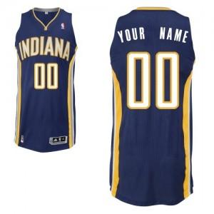 Maillot NBA Indiana Pacers Personnalisé Authentic Bleu marin Adidas Road - Enfants