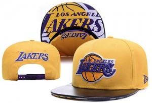 Los Angeles Lakers Y8KEFVDE Casquettes d'équipe de NBA préférentiel